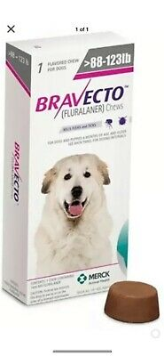 Bravecto chews for xlrg dogs
