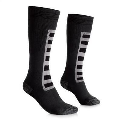 RST Adventure Long Touring Motorcycle Socks Padded Shin & Heel Two x Pairs
