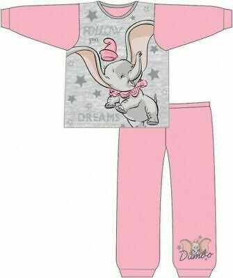 Disney Dumbo Pyjamas Childrens Kids Toddler Girls PJs Age 18 Months -5 Years