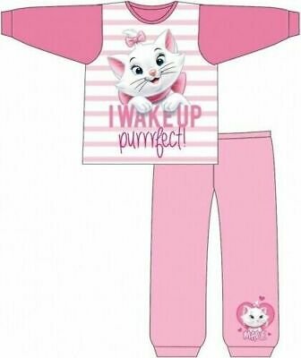 Disney Aristocat Pyjamas Childrens Kids Toddler Girls PJs Age 12 Months -5 Years