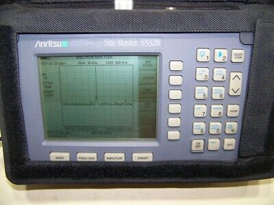 Nice Anritsu S332B opt.5 Site Master w/new smart Battery,Charger and nice case!!