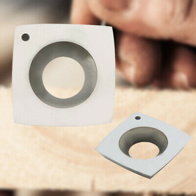 """2""""Radius Carbide Inserts Square 4-Edge Wood Cutter Stainless Round Edge Rougher"""