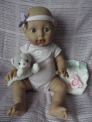 """16"""" Zapf Creation Baby Annabell Care For Me Doll, Bathable, Shivers With Sounds"""