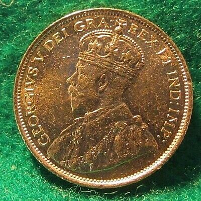 Canada 5 Dollars 1912 .900 Gold Coin Unc Condition George V Km#26
