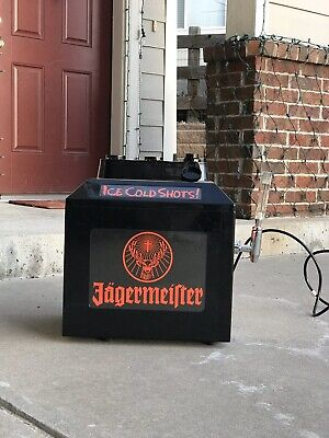 Jagermeister JEMUS Tap Machine 3 Bottle Shot Dispenser Chiller Cooler