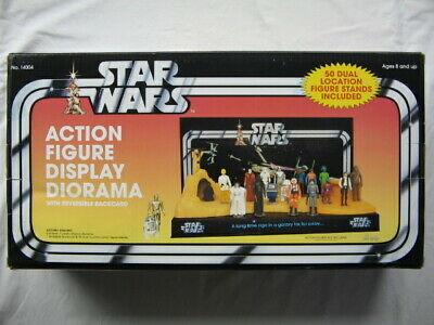 Star Wars Vintage Collection *** Action Figure Display Diorama *** SELTEN ***