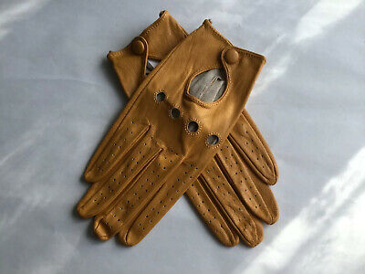 Vintage Womens Primark Leather Gloves Size 7 1/2