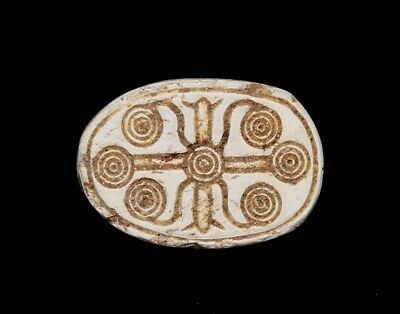Tz 29,Egyptian Steatite Scarab .