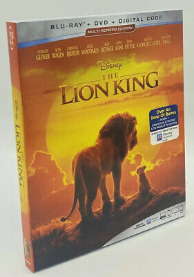 Lion King, The [2019]  Blu-ray+DVD+Digital Code with Slipcover   Beyonce