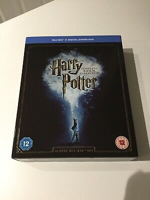 Harry Potter Complete 8-film Collection Blu-Ray 2001-2011 8 Disc Set