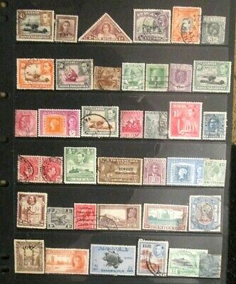 BRITISH EMPIRE  QV.-KGVI mixed mint and used lot 12