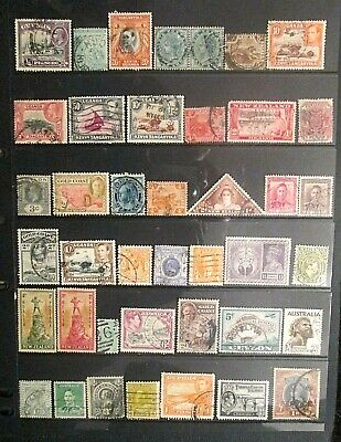 BRITISH EMPIRE  QV.-KGVI mixed mint and used lot 13