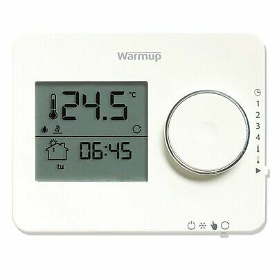 Warmup Tempo Thermostat - Porcelain White