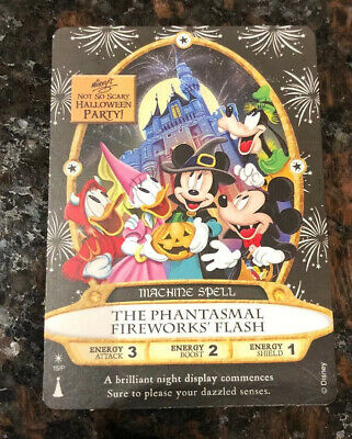 NEW 2019 Sorcerers Of The Magic Kingdom Not So Scary Halloween Party Card