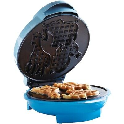 New Brentwood Appliances TS-253 TS-253 Nonstick Animal Shape Waffle Maker, Blue