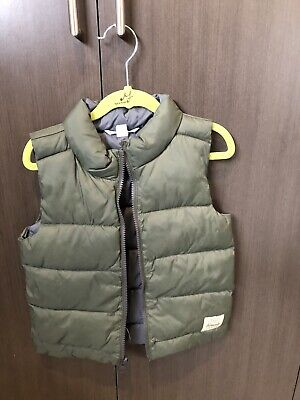 Country Road Kid's Boys Puffer Vest Size 4/5 Green