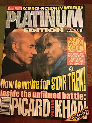 Vintage 1993 Starlog Platinum Edition Magazine Issue # 1