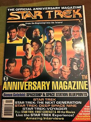 Vintage 1996 Star Trek 30th Anniversary Magazine Collectible Magazine