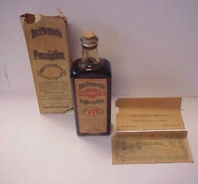 Vintage Dr. Pierce's Favorite Prescription - Unopened Sealed - Quack Medicine