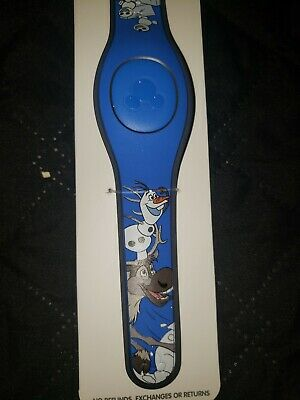 Disney Parks 2019Frozen Olaf Sven Snowgies MagicBand 2 Magic Band NEW in Package