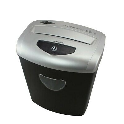 PENDO 10 Sheet A4 Paper Shredder Cross Cut Shredder 21 Litre Basket Home Office