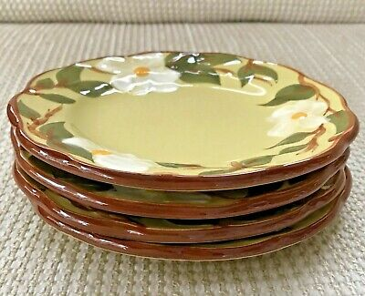 #1466 Stangl WHITE DOGWOOD BREAD AND BUTTER PLATE