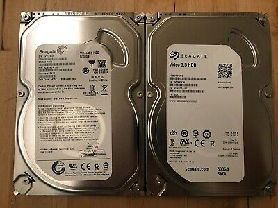 Factory Sealed New Seagate Video 3.5HDD Drive 500GB ST500VM000