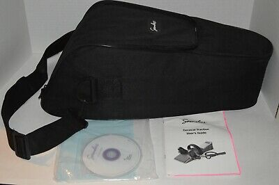 Saunders Cervical Traction System With Paper Work CD & Carrying Case