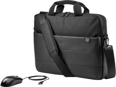 "HP 15.6"" Classic Briefcase And Mouse, 1FK06AA"
