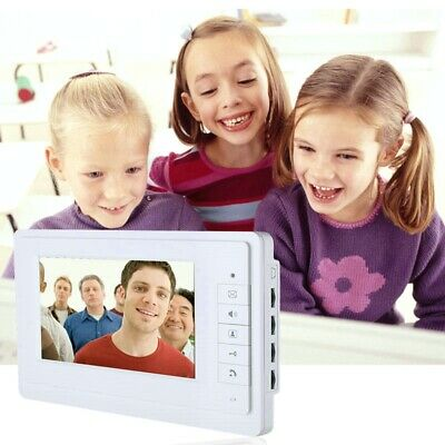 17.8cm Video Tür Telefon Türklingel Intercom Set 1-Camera 1-Monitor Nachtsicht