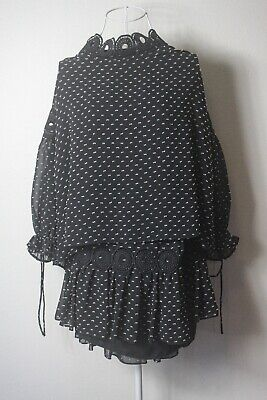 """Seed"" Size 14-16, Ladies Stylish Spotted Top & Skirt, Great Condition, Bargain!"