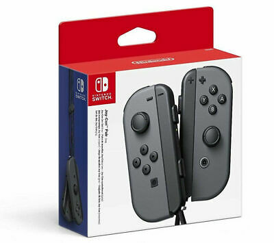 Official Nintendo Switch Joy-Con Controllers - Pair - Grey   BRAND NEW SEALED