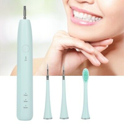 Electric Ultrasonic Dental Scaler Tartar Calculus Plaque Tooth Stain Remover Too
