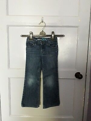 Girls Baby Gap Cute Bootjeans  Blue  Age 4 Years