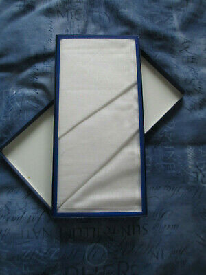 John Lewis Mens Handkerchiefs New Boxed Sealed Set 3 Linen (100%Cotton)White