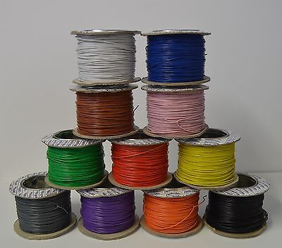 10 Meters Model Railway Wire - 1.4 Amp - Big Range Of Colours - Model Trains