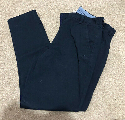 NEXT Navy blue chino trousers - Age 16 years Plus