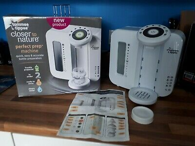 Tommee tippee perfect prep machine white Boxed Great Condition