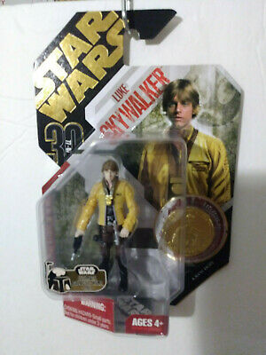Star Wars Luke Skywalker With Exclusive Collector Coin Ultimate Galactic Hunt