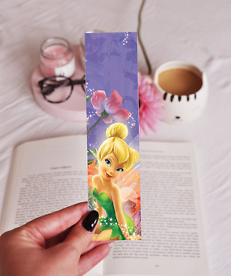 Tinkerbell - Laminated Bookmark - Cute Fairy - Novelty Birthday (Kids) Gift