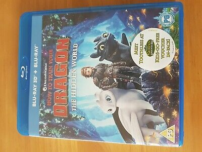 How to train your dragon hidden world 3d all discs