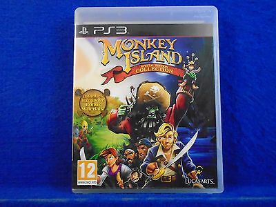 *ps3 MONKEY ISLAND Special Edition Collection REGION FREE UK ENGLISH LANGUAGE