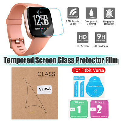 Protective Film Guard Cover Tempered Glass Screen Protectors For Fitbit Versa
