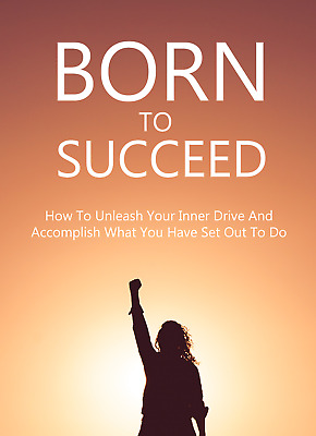 BORN TO SUCCEED Ebook with Full Master Resell Rights   MRR   PDF   Ebooks