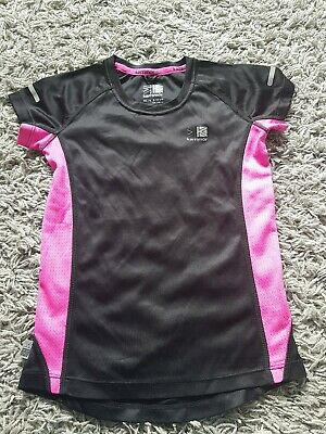 Karrimor Run Kids Age 9-10 Girls Black Pink