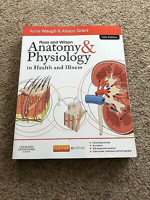 ross and wilson anatomy and physiology 12th Edition
