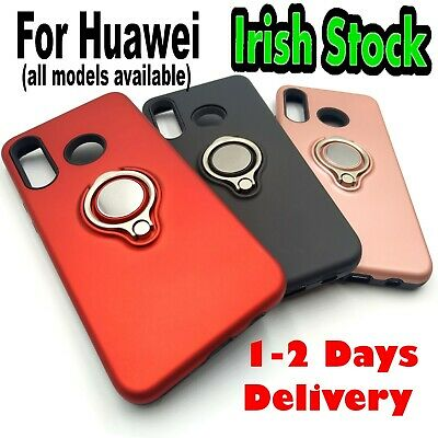 ✅RING Phone CASE✅ Cover For Huawei P30 P20 Lite Y6 2019 P Smart QUALITY PRODUCT✅