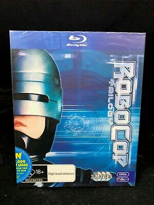 Robocop Trilogy Blu Ray Box Set