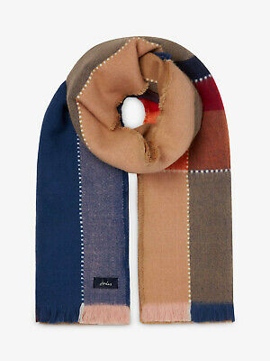 Joules Stamford Check Scarf - Choice of Colours