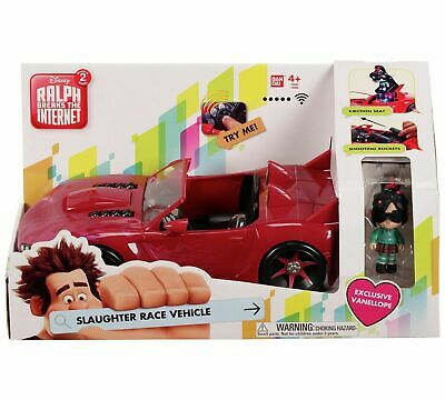 Wreck-It Ralph 36865 Vehicle Car and Vanellope Figure Toy Playset